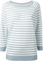 Hemisphere striped sweatshirt - women - Merino - 36