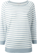Hemisphere striped sweatshirt - women - Merino - 38
