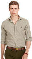Polo Ralph Lauren Slim-Fit Checked Twill Shirt