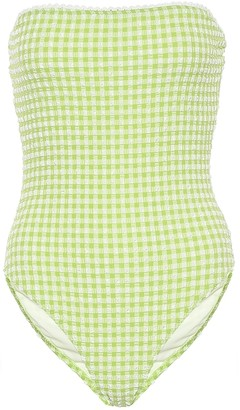 Solid & Striped Exclusive to Mytheresa The Madeline gingham swimsuit