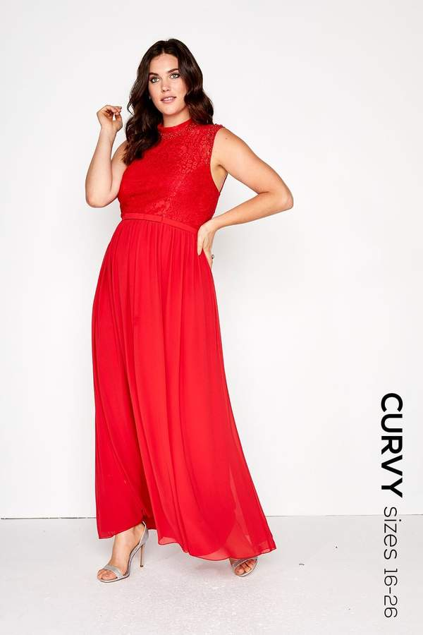 ae4ea0a36c Little Mistress Red Maxi Dresses - ShopStyle UK