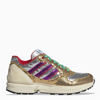 adidas Multicolour sequins ZX 6000 sneakers