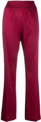 Fabiana Filippi high-waisted silk trousers