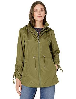 Details Women's Pack-it-in-a-Pouch Water-Resistant Vestee Jacket