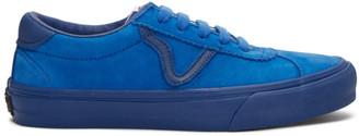 Vans Blue Nubuck Epoch Sport LX Sneakers