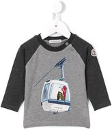 Moncler ski lift T-shirt - kids - Cotton/Spandex/Elastane - 3-6 mth