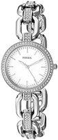 Fossil Women's ES4124 Kerstyn Three-Hand Stainless Steel Watch