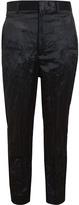 Haider Ackermann Creased Silk-wool Trousers
