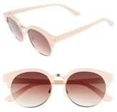 BP Women's 55Mm Oversize Sunglasses - Black