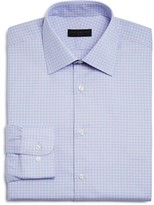 Ike Behar Small Gingham Check Regular Fit Dress Shirt