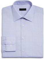 Ike Behar Small Gingham Check Regular Fit Dress Shirt