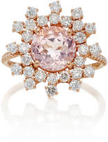 Suzanne Kalan One-Of-A-Kind Morganite And Diamond Ring