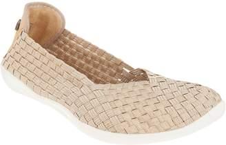 Bernie Mev. Basket Weave Slip On Shoes - Catwalk