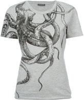 Alexander McQueen octopus T-shirt - women - Cotton - 36