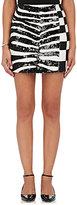 Marc Jacobs Women's Wool & Paillette Miniskirt