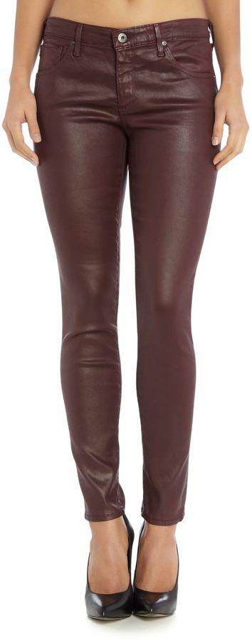 AG Jeans Mid rise ankle skinny leg legging