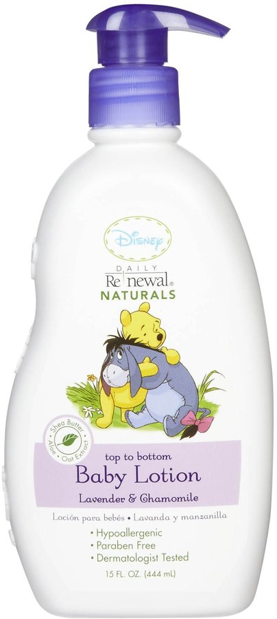 Green Baby New Windsor Disney Baby Daily Renewal Baby Lotion - Lavender & Chamomile - 15 oz