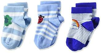 Tommy Hilfiger Baby TH Lucky Charms GIFTBOX 3P Socks, Multicolour Blue 397, (Pack of 3)