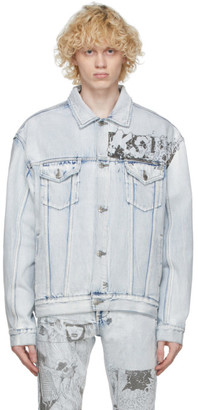 Ksubi Blue Denim Oh G Comik Jacket