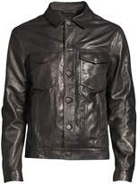 J Brand Acamar Leather Jacket