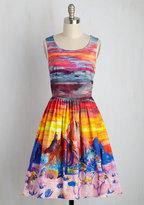 East Concept Fashion Ltd Painted Love A-Line Dress