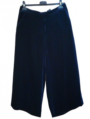 Cos Blue Trousers for Women