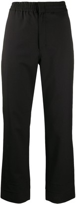 Y-3 Straight-Leg Logo Trousers