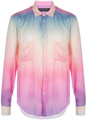 Garçons Infidèles Watercolour Print Shirt