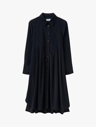 Toast Needlecord Swing Shirt Dress
