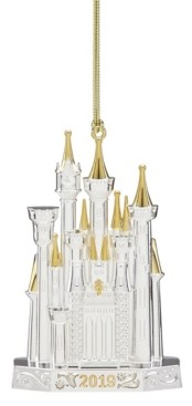 Lenox 2019 Disney Castle Ornament