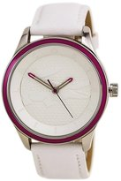 Lacoste Victoria Leather - White Women's watch