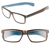 Eyebobs Men's Eyebob I'M Right 56Mm Reading Glasses - Tortoise Blue Inside