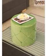 Hanes Mercer41 Tufted Storage Ottoman Mercer41 Upholstery Color: Green