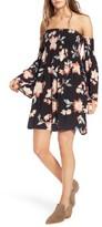 Billabong Women's Night Fox Off The Shoulder Dress