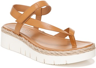 Franco Sarto Sporty Asymmetrical Strap Sandals- Josette