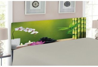 Spa Upholstered Panel Headboard East Urban Home Size: Twin, Color: Multicolor