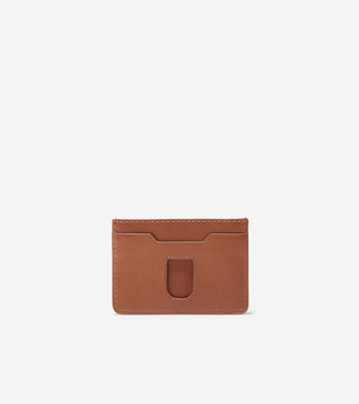 Cole Haan GRANDSERIES Leather Card Case