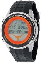 Game Time Texas Longhorns Stainless Steel Digital Schedule Watch - Men
