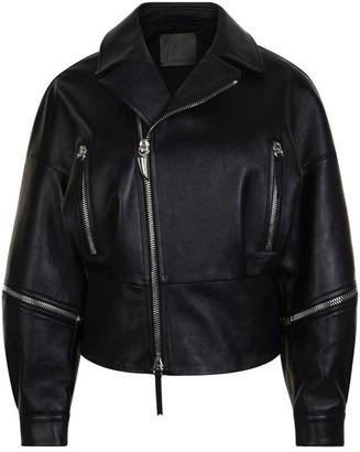 Giuseppe Zanotti Leather Zip Jacket