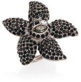 Oscar de la Renta Tropical Bloom Crystal Star Ring