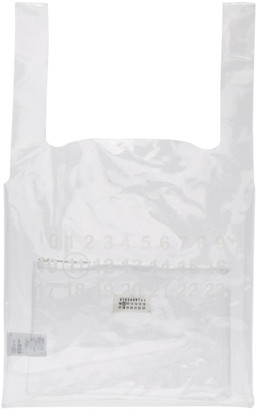 Maison Margiela Transparent Three Piece Plastic Tote