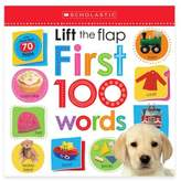 "Scholastic Lift the Flap: First 100 Words"" Board Book"