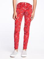 Old Navy Floral Jeggings for Girls