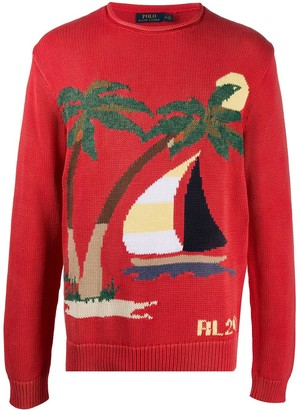 Polo Ralph Lauren Island knit jumper