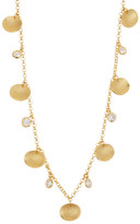 Melinda Maria Long Stone & Pod Necklace