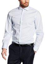 Jack and Jones Men's Slim Fit Long Sleeve Business Shirt - Multicoloured -