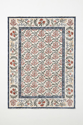 Rifle Paper Co. x Loloi Kismet Suzani Garden Rug By in Beige Size 5X8