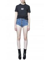 Vetements x levis denim shorts