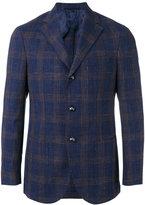 Barba checked blazer - men - Silk/Linen/Flax/Wool - 50