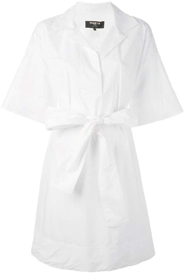Paule Ka wide-arm shirt dress
